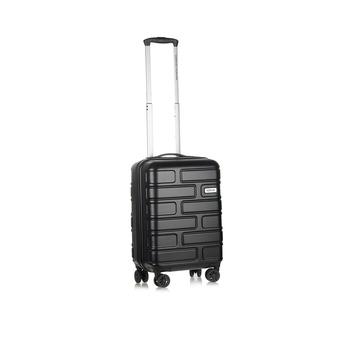 American Tourister Hard Luggage 4  Wheels Trolley Set -Bricklane 55 Cm Jet Black