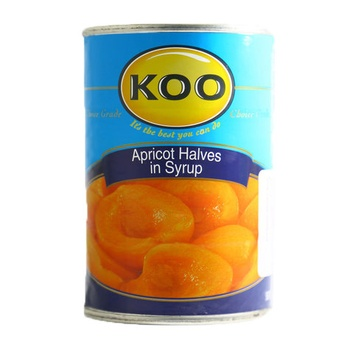 Koo Apricot Halves In Syrup 410g