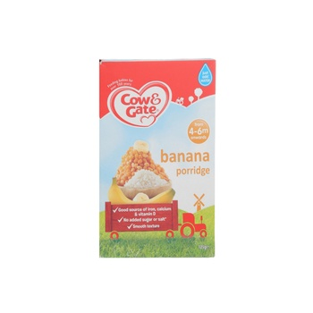 Cow & Gate Banana Porridge 4Mon 125g