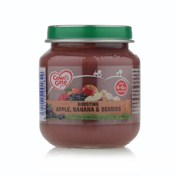 Cow & Gate Bursting Apple, Banana & Berries Jar 125 g