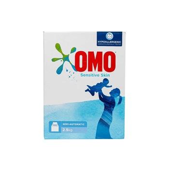 OMO Active Laundry Detergent Powder Sensitive Skin 2.5Kg