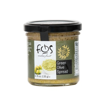 Fos Green Olives Spread 135g