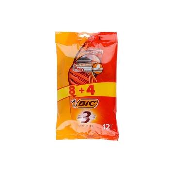 Bic Razor for Men Sensitive Pouch 8+4 12s pack