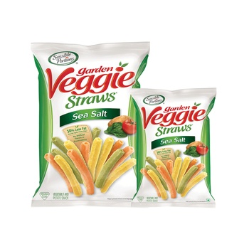 Sensible Portions Garden Veggie Straws Sea Salt 120g + 30g Free