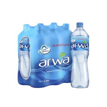Arwa Bottled Drinking Water 6 X 1.5 ltr