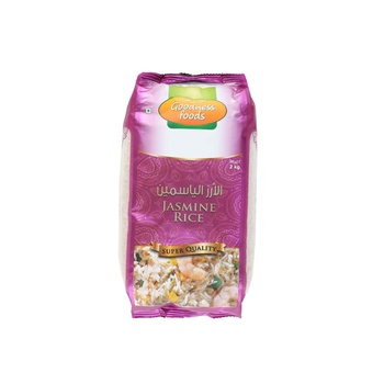 Goodness Foods Jasmine Rice 2Kg