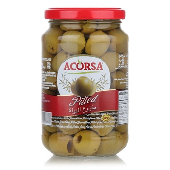 Acorsa Spanish Green Olive Pitted 350g