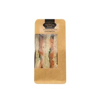 Goodnes Foods  Pre Smoked Salmon Wedge 150g