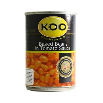 Koo Baked Beans In Tomato Sauce 410g