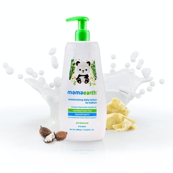 Mamaearth Moisturizing Daily Lotion For Babies 400ml