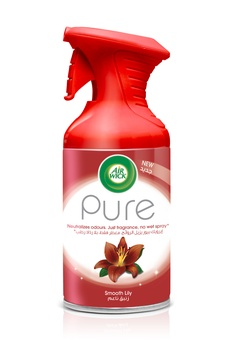 Air Wick Air Freshener Aerosol Pure Smooth Lilly 250ml