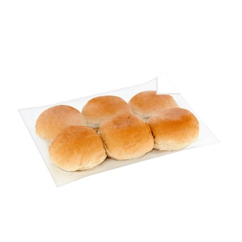 White Roll 6 Pieces 60g