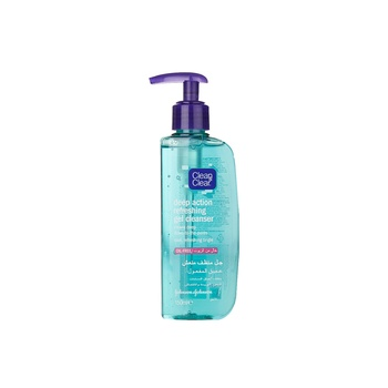 Clean & Clear Gel Cleanser Deep Action Refreshing 150ml