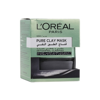 Loreal Dermo Expertise Pure Clay Mask Charcoal 50 ml
