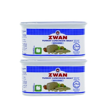 Zwan Luncheon Meat Turkey 2 x 200gm @ Special Price