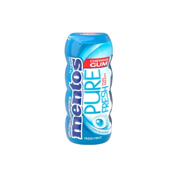 Mentos Pocket Bottle Pure Fresh Mint 24g