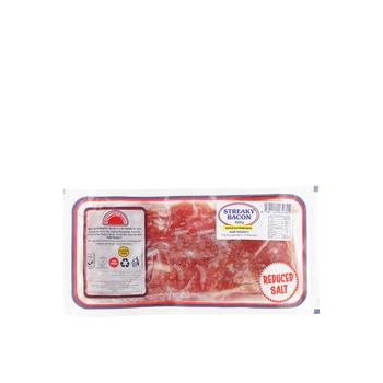 Farmers Choice Unsmoked Streaky Bacon 400g