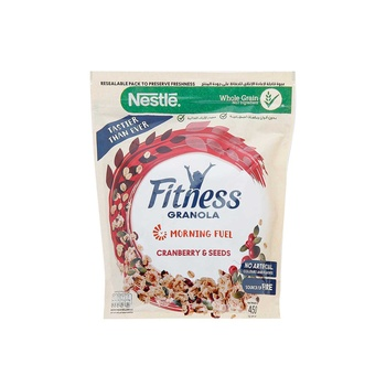 Fitness Granola Cranberry 450g