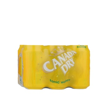 Canada Dry Tonic Can  6X300ml