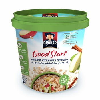 Quaker Oat Good Start With Apple Cinnamon 43g