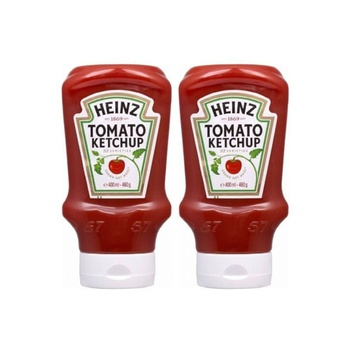 Heinz Ketchup 400ml Pack Of 2