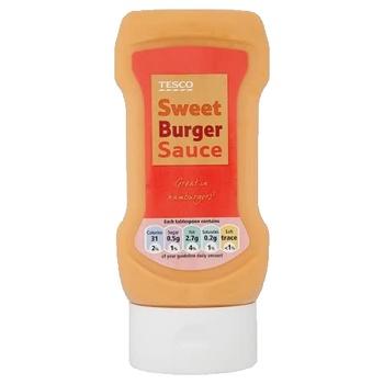 Tesco Sweet Burger Sauce 320 g