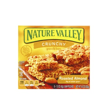 Natural Valley Cereal Bar Crunchy Roasted Almond 252g