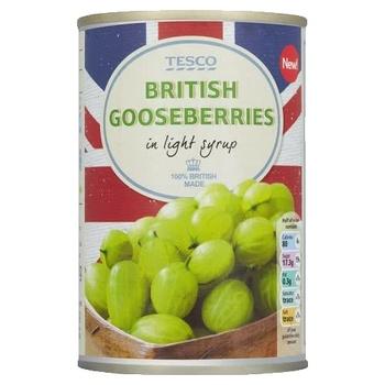 Tesco British Goose Berries 290g