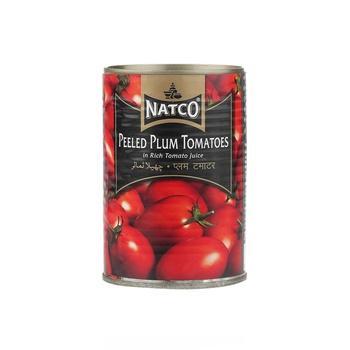 Natco Peeled Plum Tomato 400g