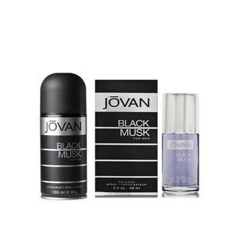 Jovan Black Musk by Jovan Cologne Spray 88ml + Deo Spray 150ml