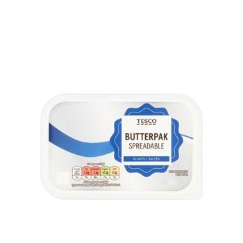 Tesco Butterpak Salted Spreadable 500g