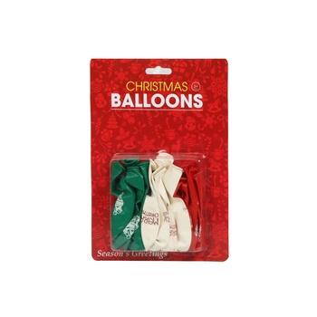 X'Mas Balloons 16 Pcs