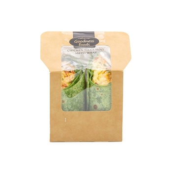 Goodnes Foods  Chicken Tikka Mint Mayo Wrap 250g
