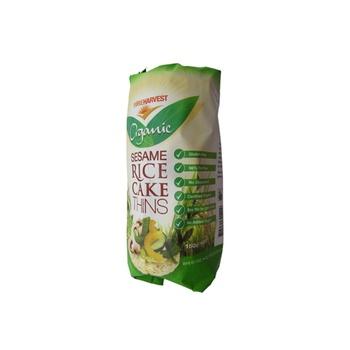 Pureharvest Organic Sesame Rice Cake Thins 150g