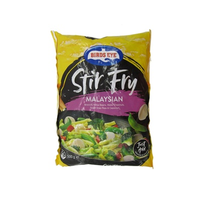 Birds Eye Stir Fry Malaysian Mix 500g