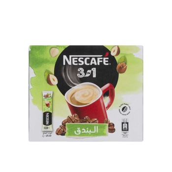 Nescafe 3 In 1 Hazelnut 17Gm