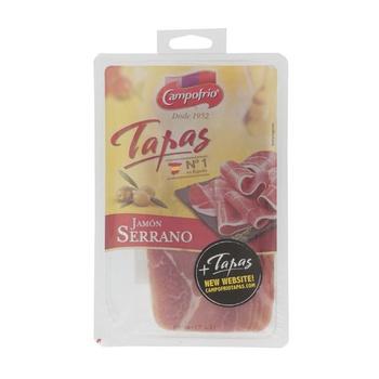 Campofrio Sliced Serrano Ham 80g