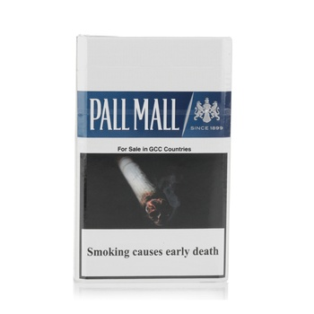 Pall Mall Cigarettes 6 Mg Blue 20s