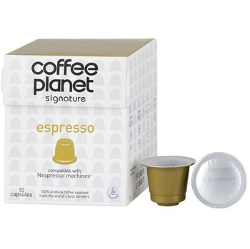 Coffee Planet Nespresso Compatible Capsules Expresso 10 x 5g