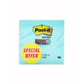3M POST IT- 3X3 -5 Pad-654