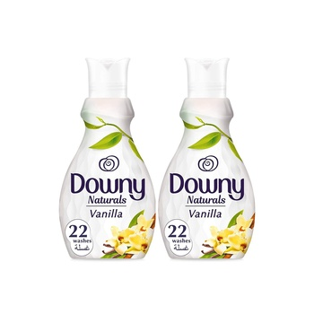 Downy Naturals Concentrate Fabric Softener Silk Tree 880ml pack of 2