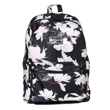 "Back Pack 16.5"" Floral White"
