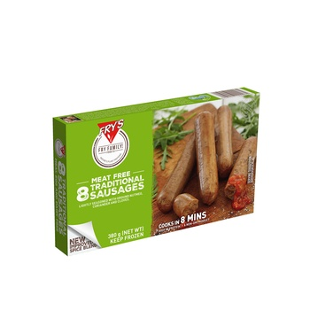 Frys Traditional Sausage 380g