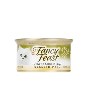 Purina Fancy Feast Classic Turkey & Giblets Feasts 85g