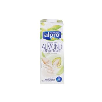 Alpro Almond Unroasted Unsweetened 1L