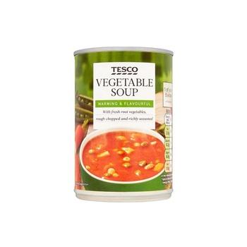 Tesco Vegetable Soup 400g