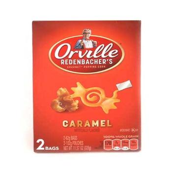 Orville Redenbachers Popcorn Caramel 328g