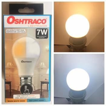 Oshtraco Led Day And Warm Light Led Bulb