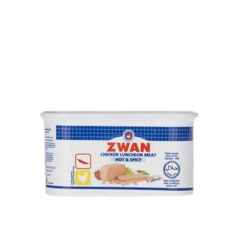 Zwan Chicken Luncheon Meat Hot & Spicy 200g