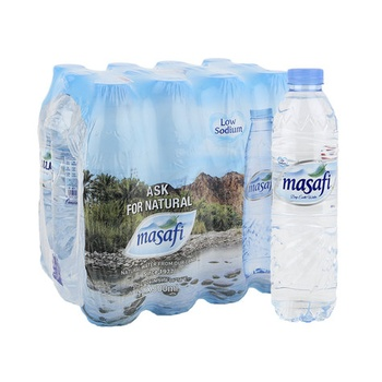 Masafi Bottled Drinking Water 12 x 500ml